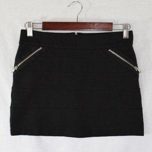 BCBGeneration Black Mini Skirt Size 4